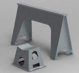 industrial engineered Sawhorses