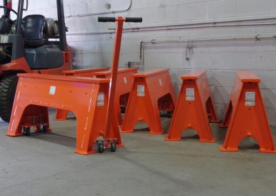 Orange Heavy-Duty Saw Horses