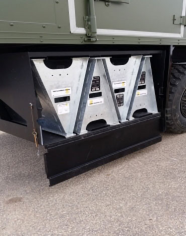 OEM Manufacture Saw Horses Military Truck