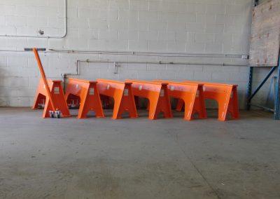 Orange Engineered Saw Horses
